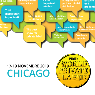 Meet us at PLMA  in Chicago from November, 18th to 19th